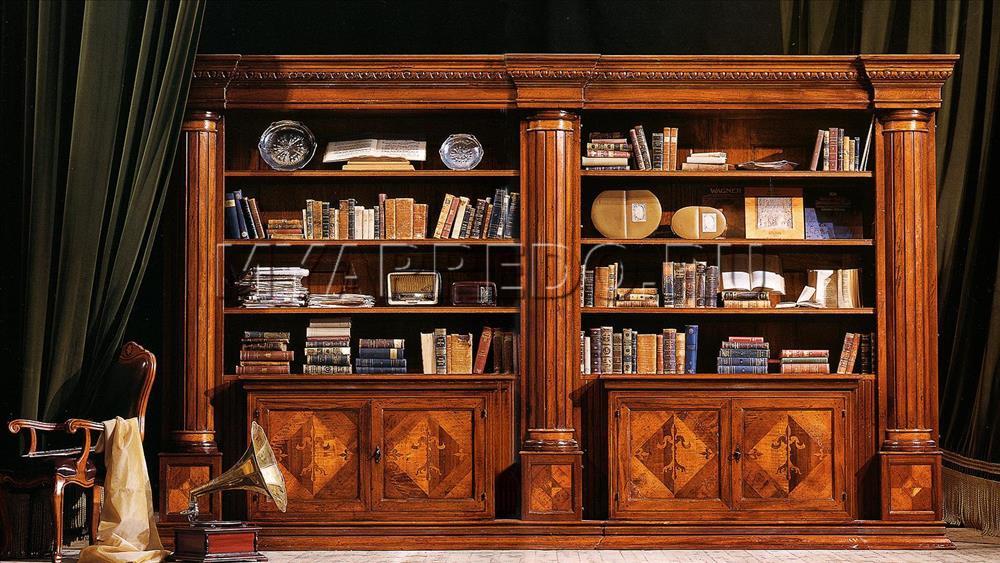 Книжный шкаф arte brotto vere antichita va1970/2. купить в м.