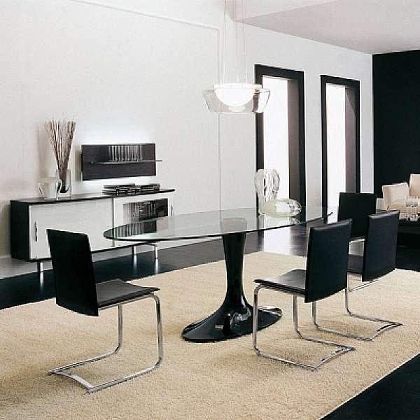Стол TONIN CASA Tavoli e Sedie IMPERIAL - 8010FSV_glass. Tavoli e ...